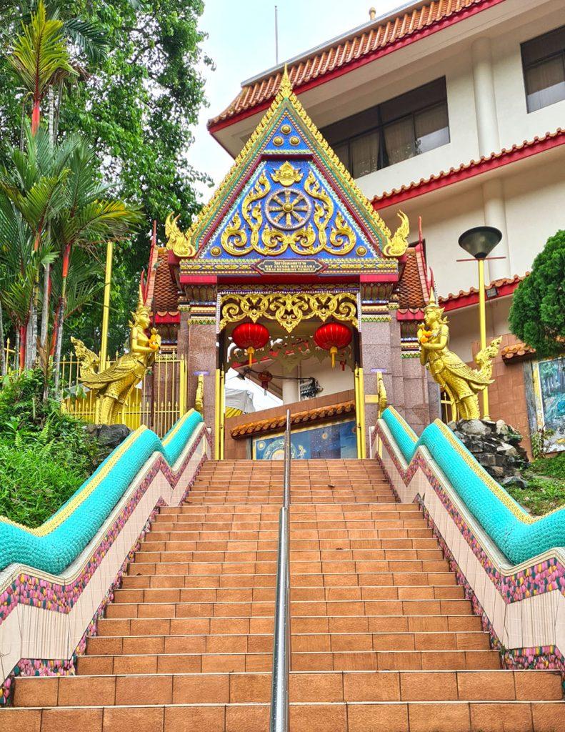 Wat Ananda Metyarama Steps