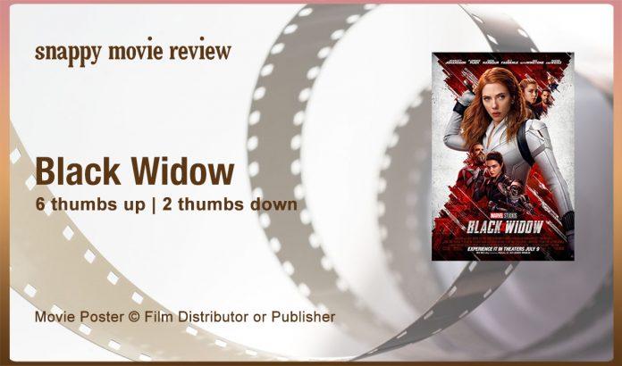 Black Widow (2021) Movie Review