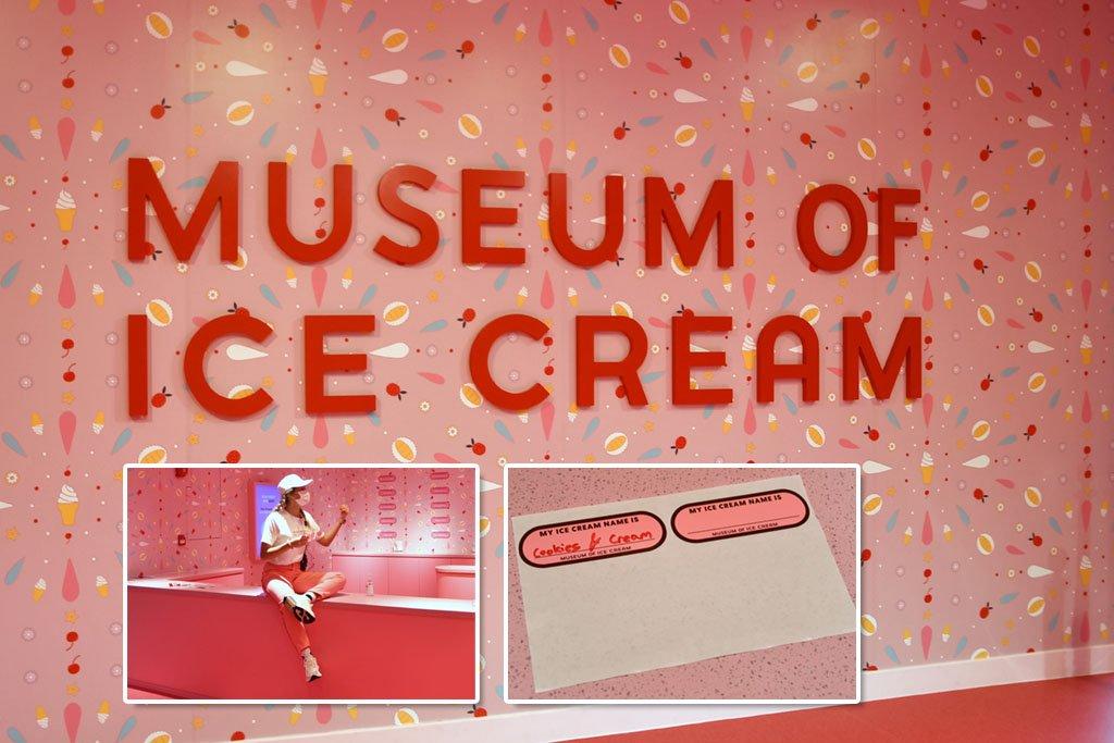 Museum of Ice Cream Entrance Lobby