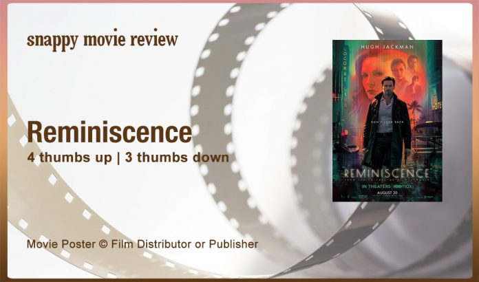 Reminiscence (2021) Movie Review