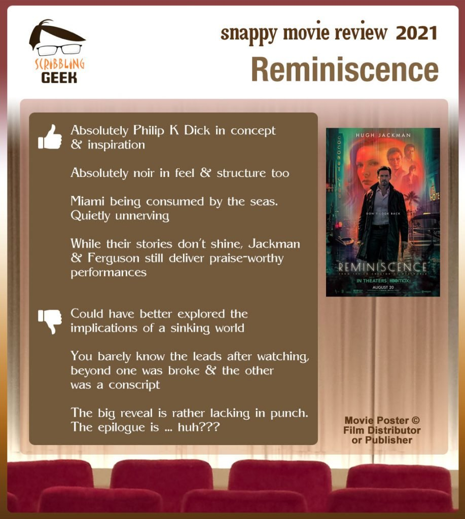 Reminiscence (2021) Review