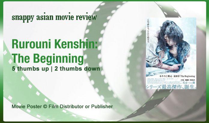 Rurouni Kenshin: The Beginning Review