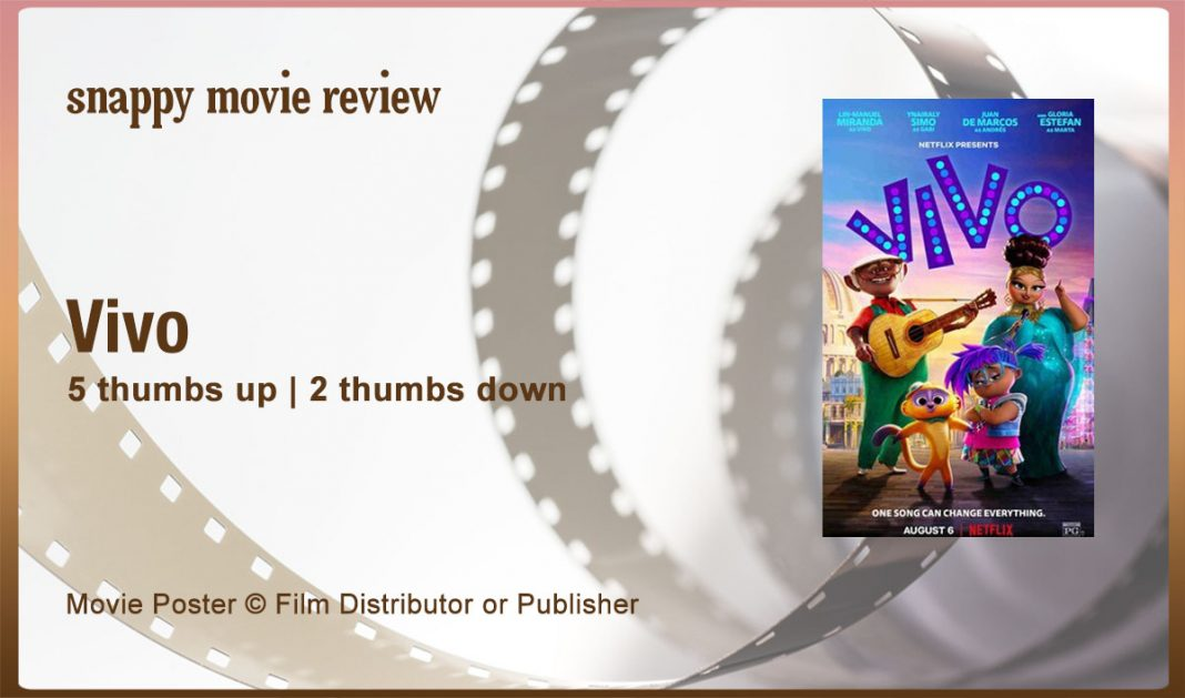 Vivo (2021) Movie Review