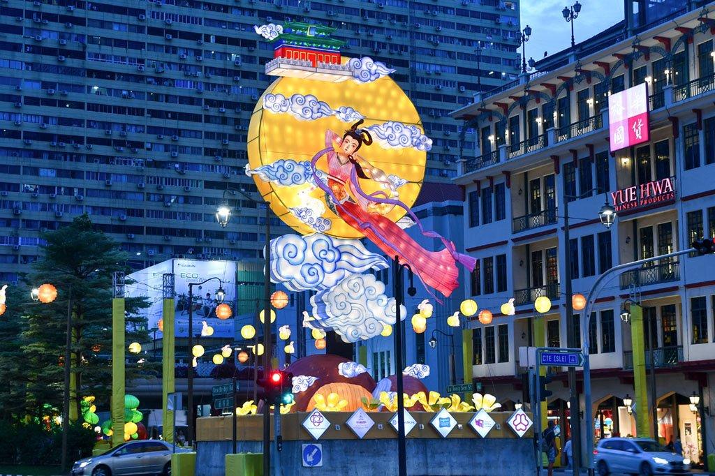Singapore Chinatown Mid-Autumn Festival Light-Up 2021