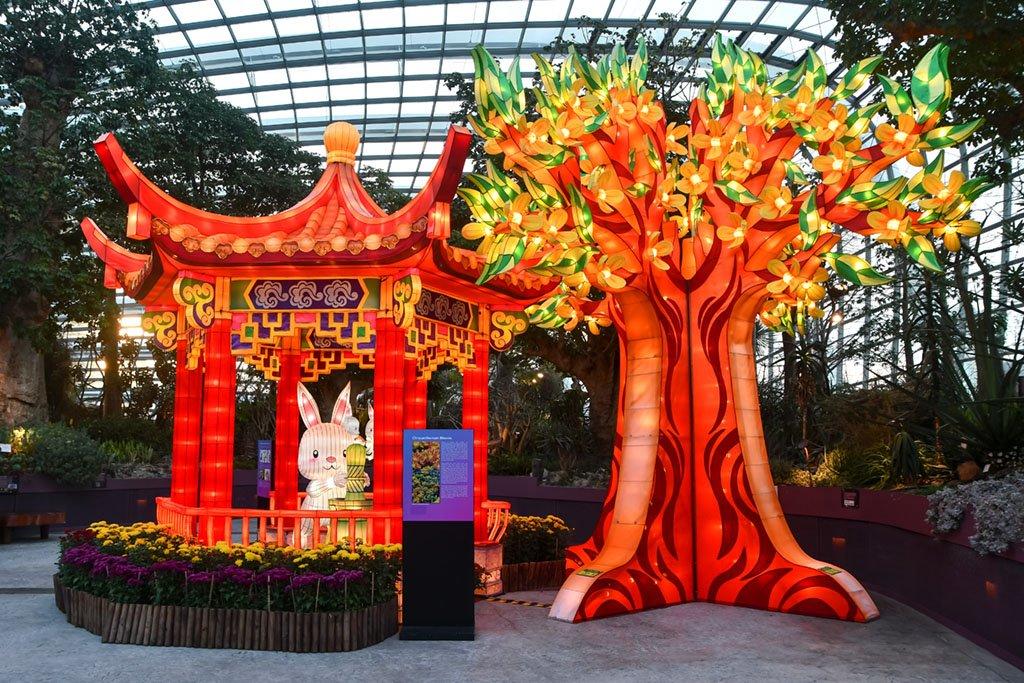 Singapore Flower Dome Mid-Autumn Festival 2021