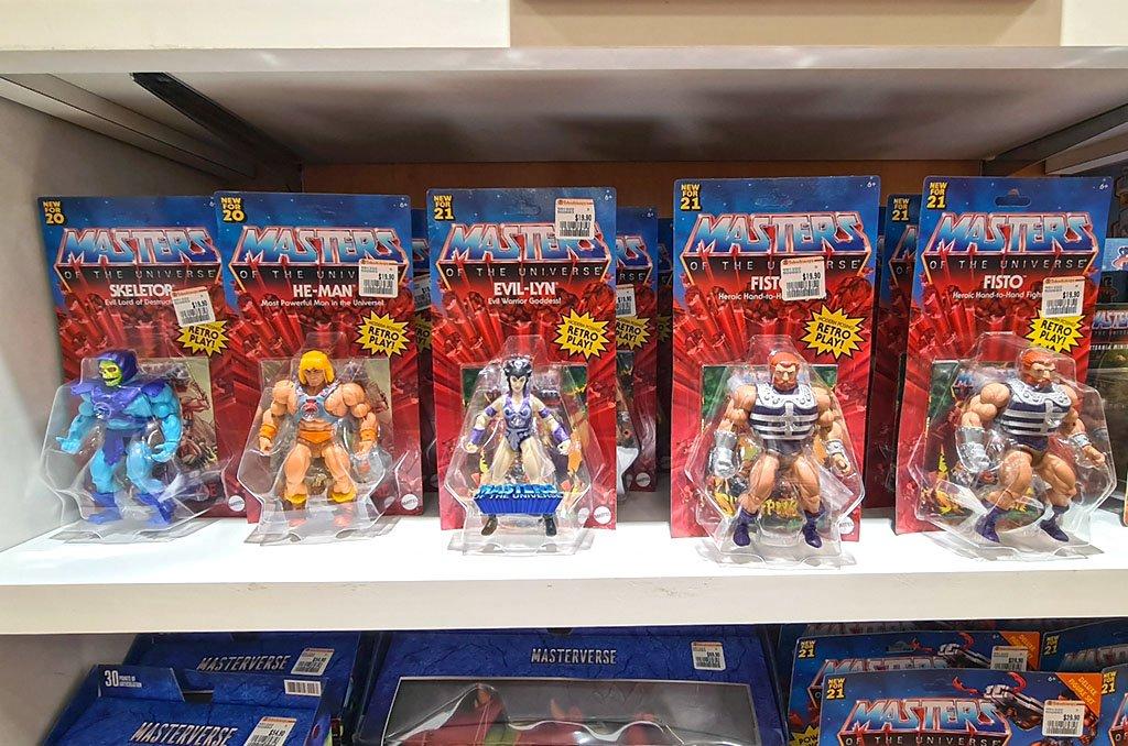 Masterverse: Masters of the Universe Retro Toys