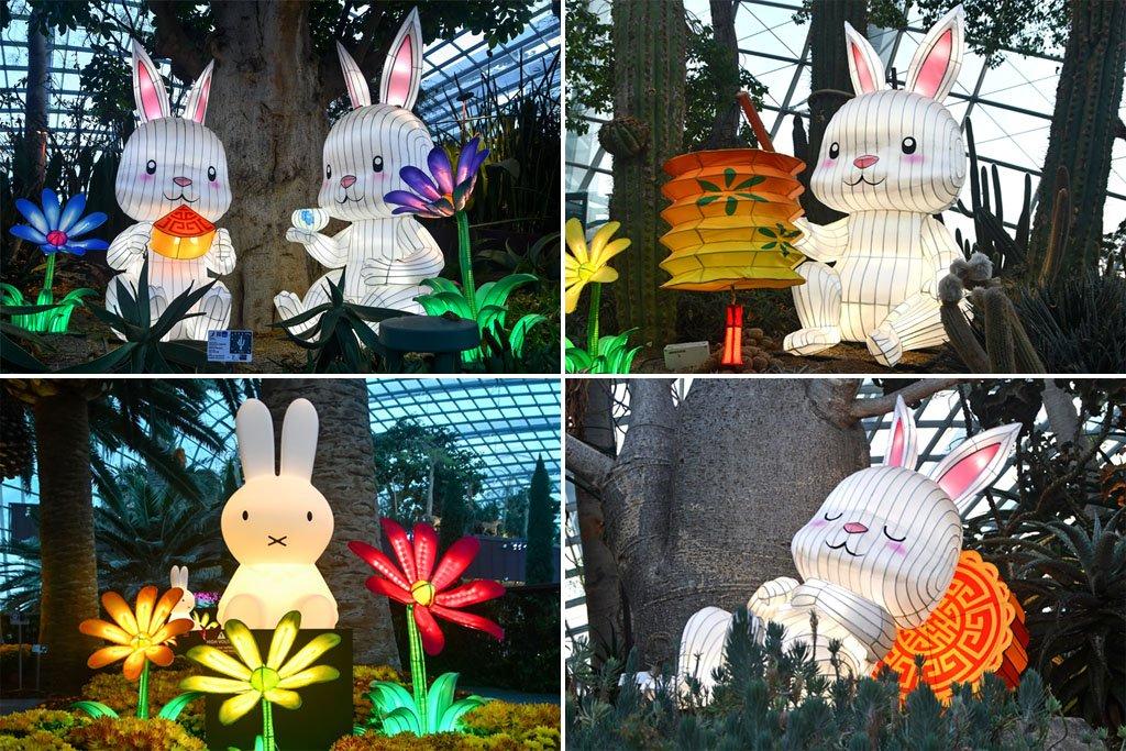 Mid-Autumn Festival Rabbits in Singapore