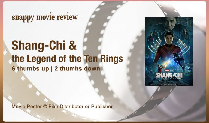 Shang-Chi and the Legend of the Ten Rings Movie Review