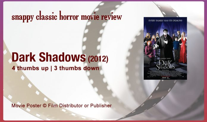 Dark Shadows (2012) Film Review