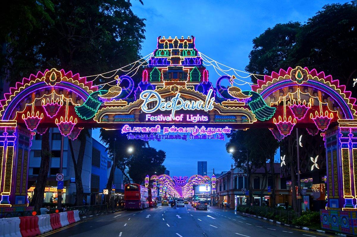 Little India Deepavali Light-Up 2021