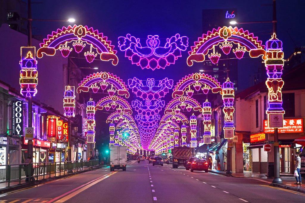 Serangoon Road Deepavali Lights 2021